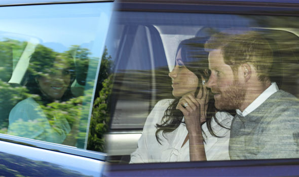 Royal wedding: Meghan Markle and Prince Harry were photographed ahead of their rehearsal