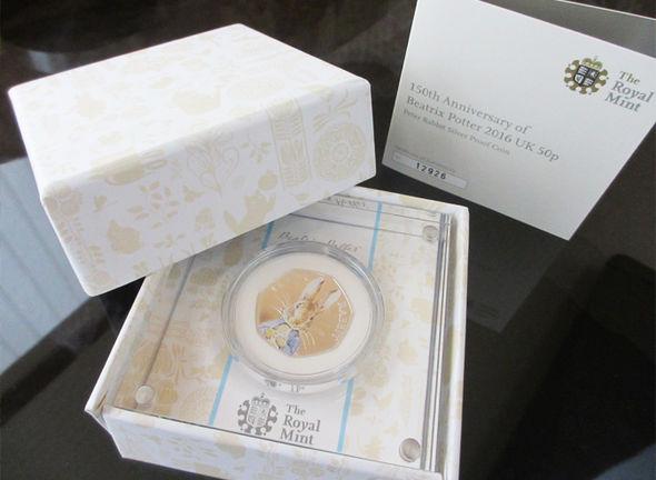 eBay Peter Rabbit 50p coin