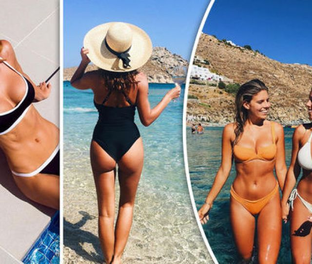 Bikini Babes Turn The World Green With Envy As They Hit The Beach For Dream Holidays