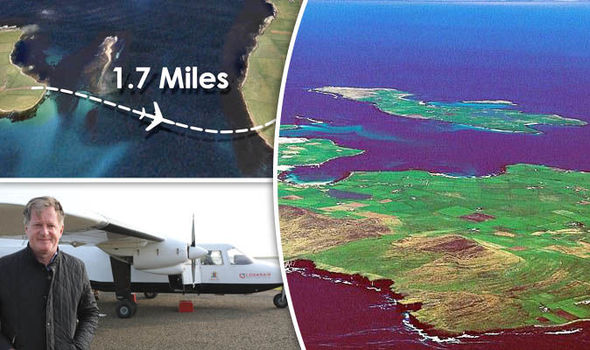 World's shortest scheduled flight - Only takes 69 seconds ...