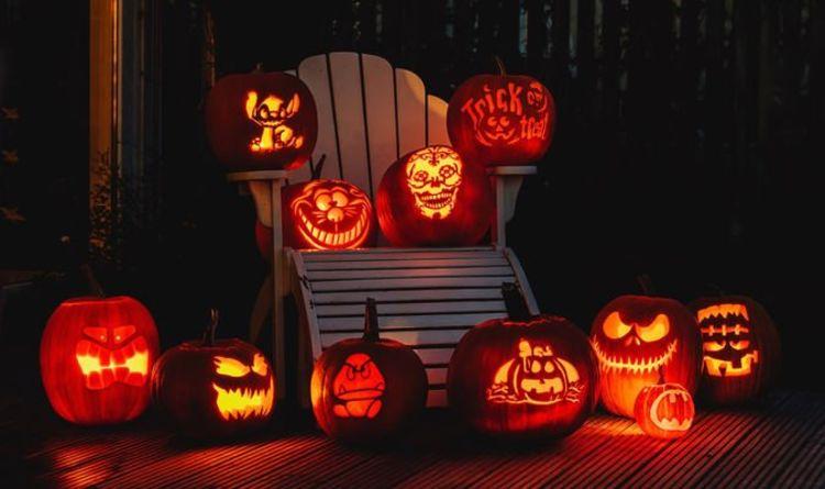 Halloween Pumpkin Ideas How To Carve A Pumpkin Easy Ideas For A Spooky Halloween Express Co Uk