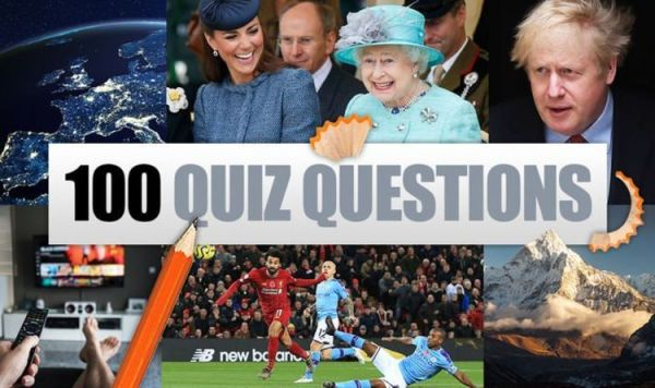 100 general knowledge quiz questions and answers - test ...