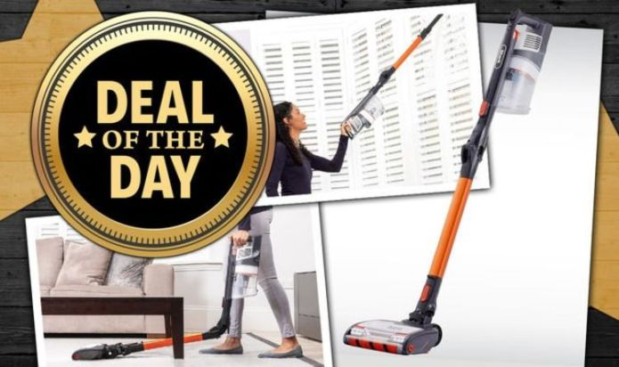 DEAL OF THE DAY: Save £110 on the cordless Shark Vacuum that's 'better than Dyson'