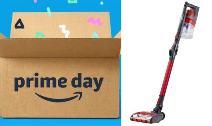 Shark cordless vaccum cleaner discounted by 50 percent off for Prime Day - one day only