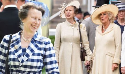 'Slow to thaw': Princess Anne's body language with Camilla Parker Bowles shows change