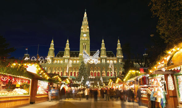 Vienna Brussels And Hamburg Europes Top Christmas