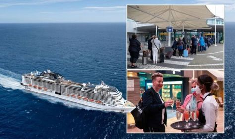 MSC Cruises sets sail tonight as UK's first ship to return to the ocean