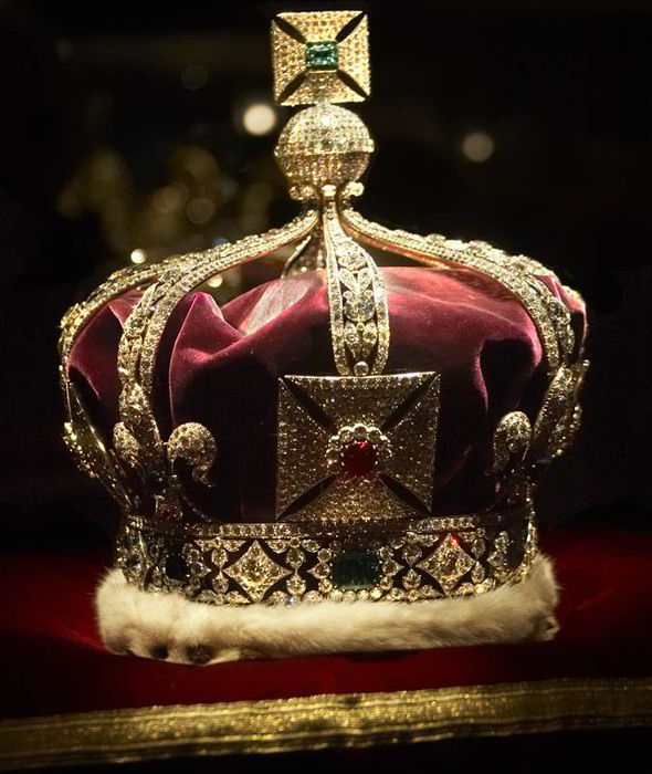 Imperial State Crown at the Tower of London