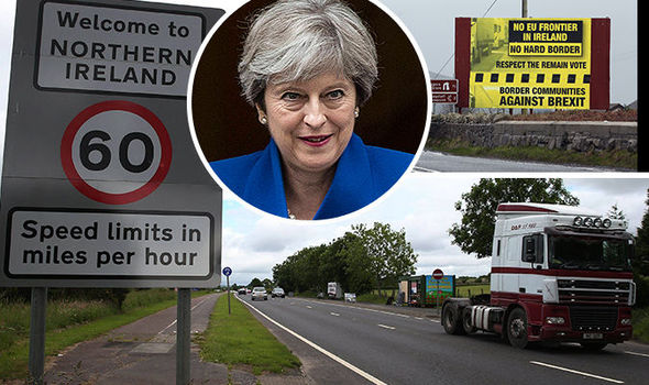 "Résultat de recherche d'images pour ""pictures of the irish border after brexit"""