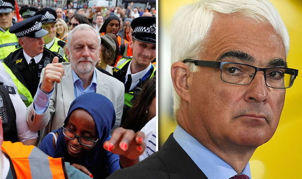 Alistair Darling vows to take control of Labour