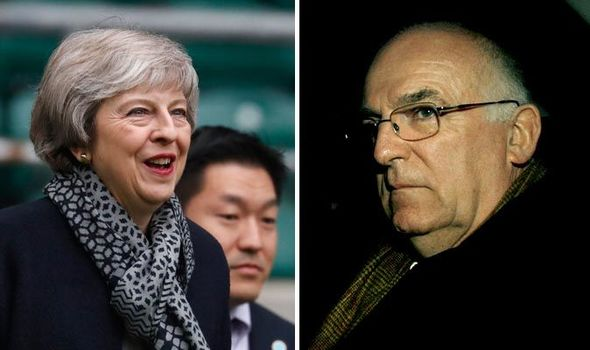 Image result for Ex-head of MI6 and former chief of the Armed Forces say May's Brexit deal is a THREAT