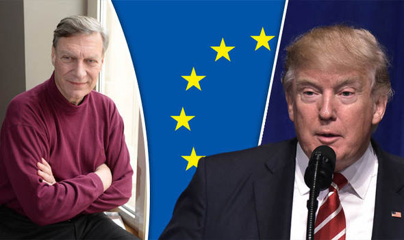 Donald Trump and Ted Malloch