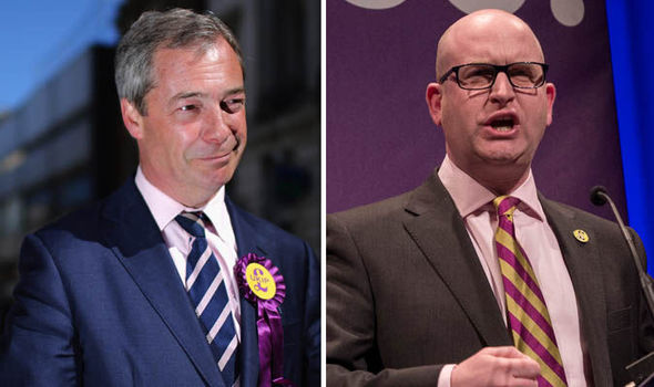 Nigel Farage and Paul Nuttall