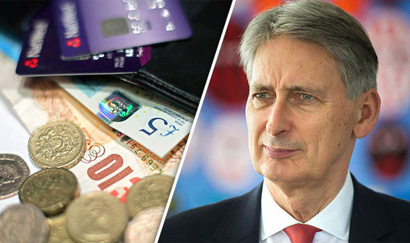 Money and Philip Hammond looks confused