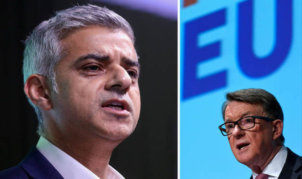 London mayor Sadiq Khan appoints leading Remainer Peter ...