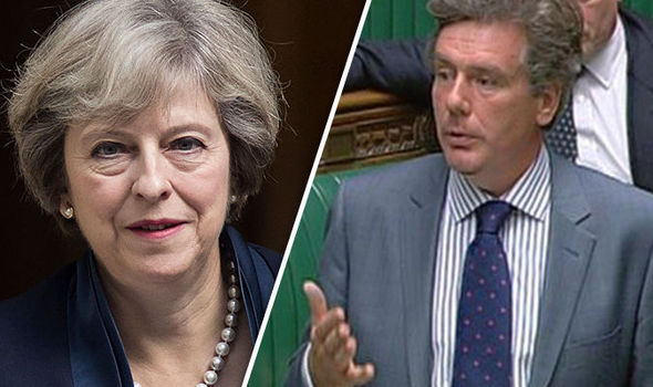 Theresa May Neil Carmichael