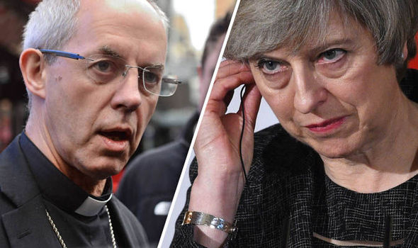 Justin Welby - Theresa May