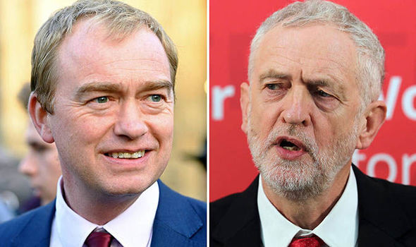 Tim Farron has written to Labour's Jeremy Corbyn