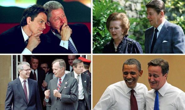 UK Prime Ministers and US Presidents