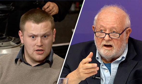 BBC - question time  BBC QT: 'Enough with the project fear lie!' Audience member furious at Remoaner | Politics | News bbc question time brexit eu european union belfast war therea villiers jonathan lynn 865811