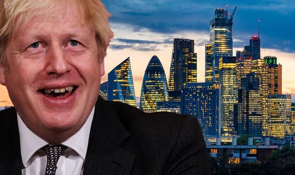 brexit boris johnson financial services