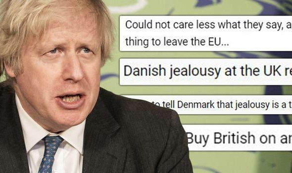 brexit denmark uk boris johnson
