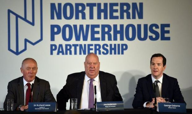 The launch of the Northern Powerhouse project