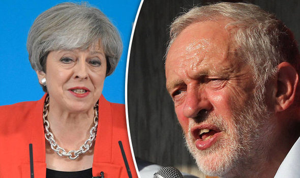 General election polls: Theresa May, Jeremy Corbyn