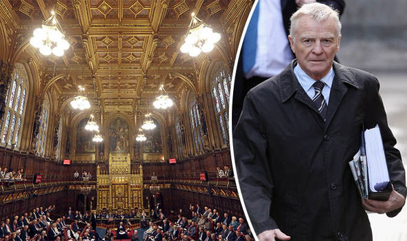 House of Lords and Max Mosley