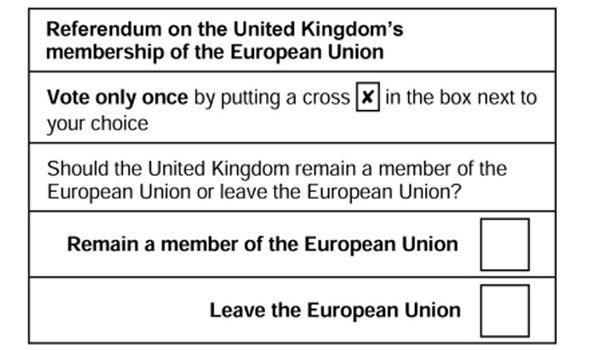 Image result for eu referendum card