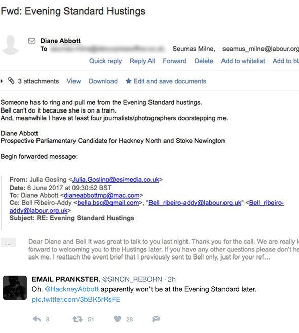 email prankster