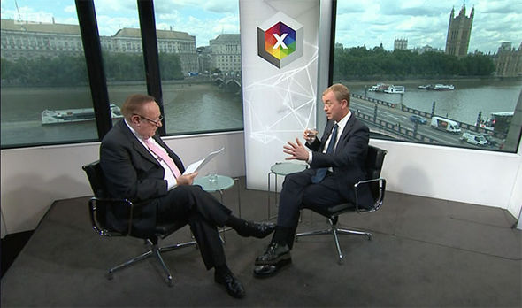 Andrew Neil and Tim Farron