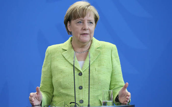 Angela Merkel German elections