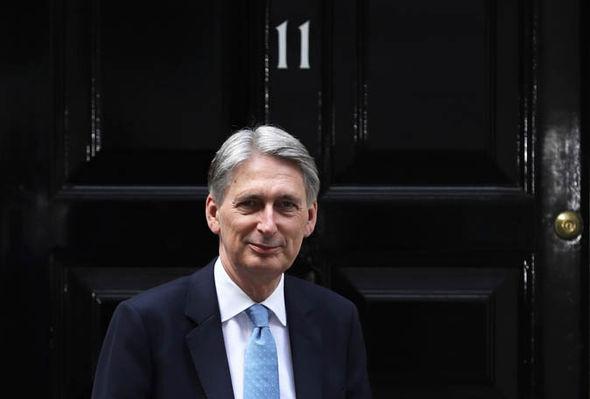 Chancellor Mr Hammond