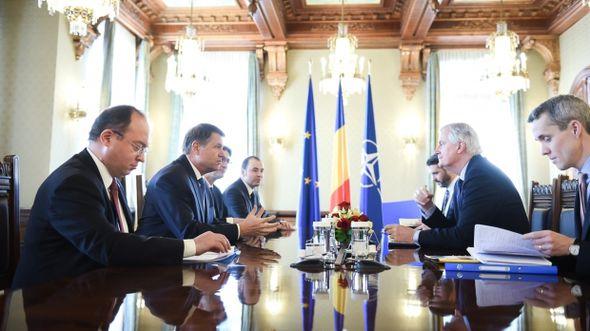 Michel Barnier meets Klaus Johannis