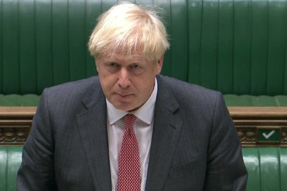 Boris Johnson debated the Internal Market Bill in the Commons this evening