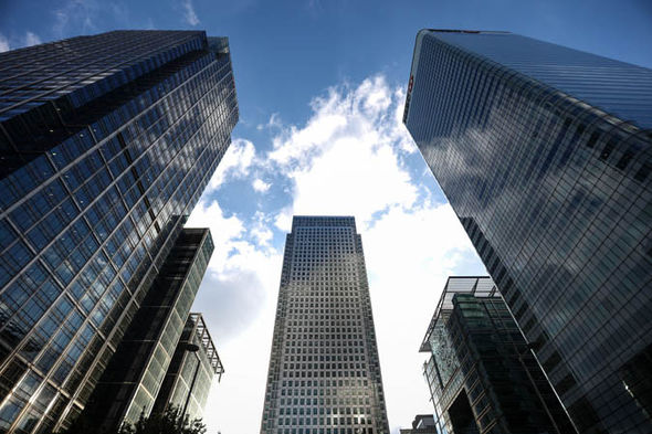 The Financial sector in london