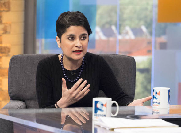 Baroness Chakrabarti on Peston on Sunday