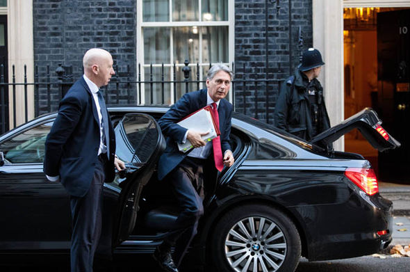 Chancellor Philip Hammond  Jacob Rees-Mogg takes sensational swipe against Brexit scaremongers | Politics | News Chancellor Philip Hammond 10 Downing Street 1127977