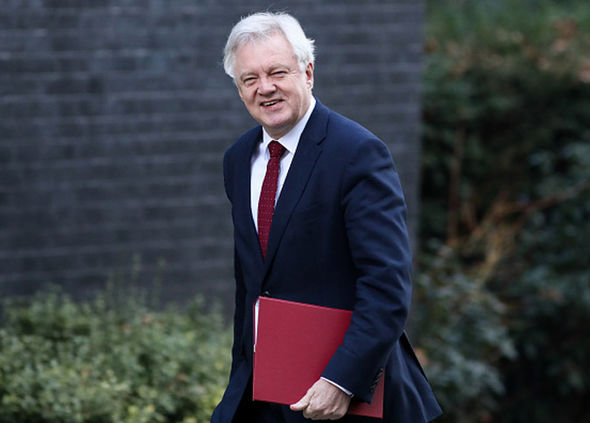 David Davis warned voters that Thursday's election vote was the last chance to save Brexit