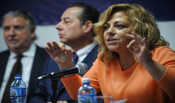 Spanish MEP Elena Valenciano