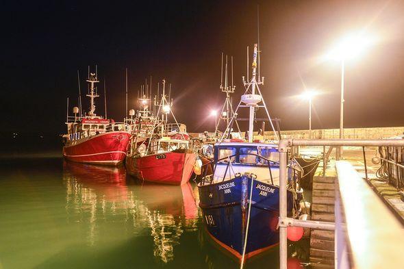 Fishing boats Cork
