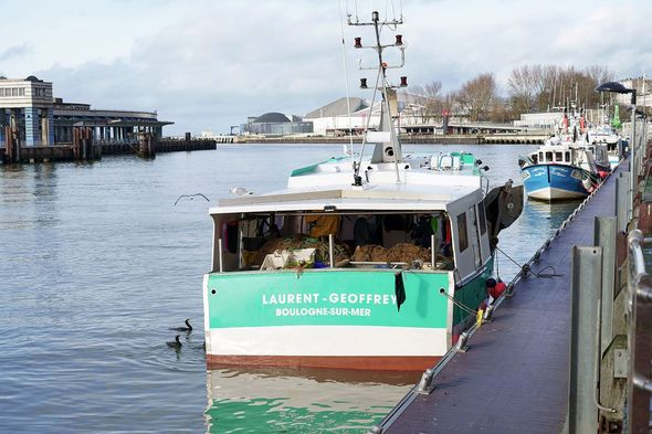 French Fishing Vessel