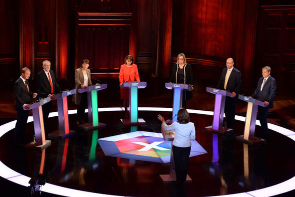 BBC general election debate on TV