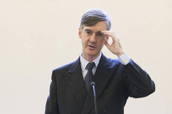 Jacob Rees-Mogg  Jacob Rees-Mogg takes sensational swipe against Brexit scaremongers | Politics | News Jacob Rees Mogg 1127979