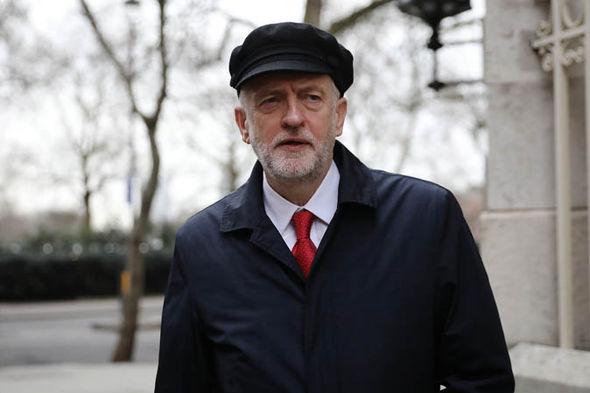 Jeremy Corbyn with a hat