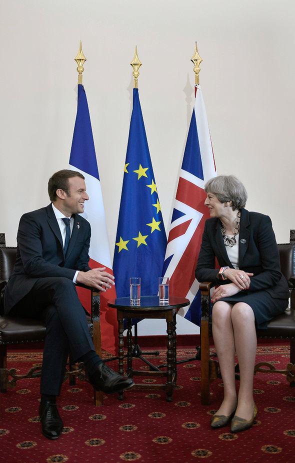 Macron and May