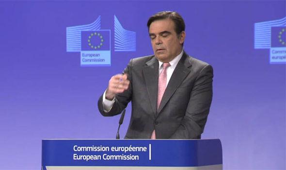 EU spokesman Margaritas Schinas