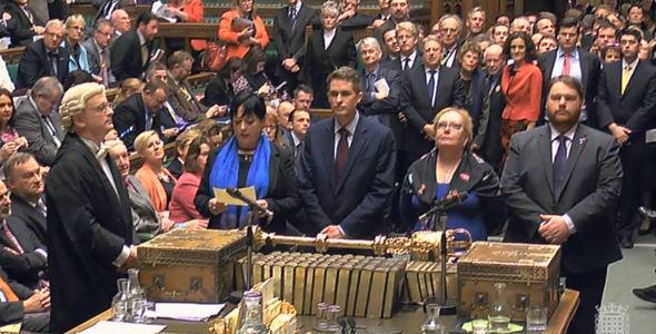Article 50 debate in Parliament