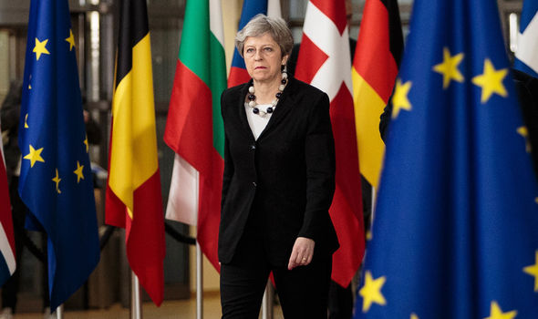 Theresa May faces a struggle